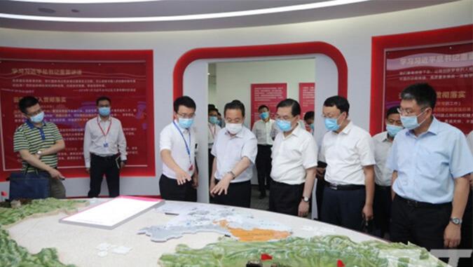 天津市委常委、常务副市长马顺清调研云账户