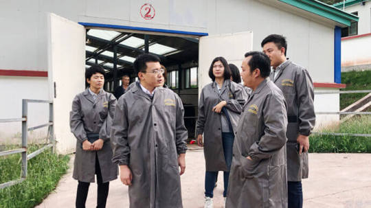 2020年8月,云账户团队调研西藏昌都卡若区蓝天圣洁耗牛育肥基地,考察当地牦牛养殖业现状和发展情况。