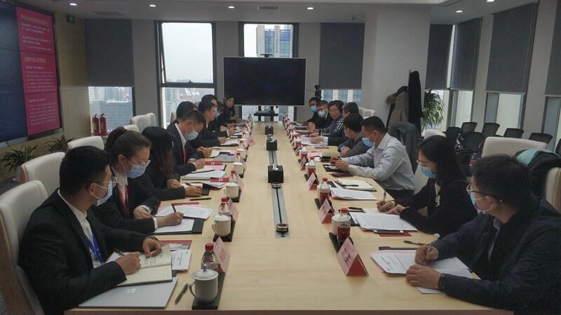 天津市商务局局长张爱国调研云账户 11