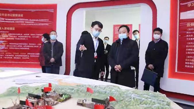 天津高新区党委书记、管委会主任夏青林走访调研云账户